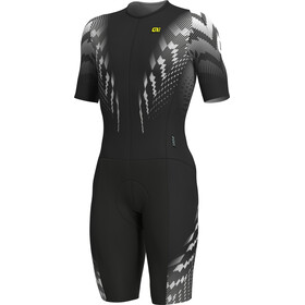 Alé Cycling R-EV1 Pro Race SS Skinsuit Men black-white